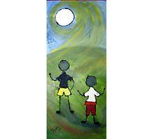 Two boys. Photographic Print