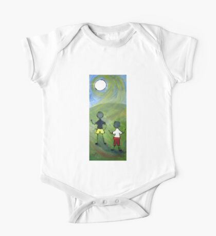 Two boys. One Piece - Short Sleeve