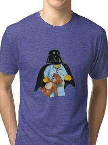 Sleepy Darth Vader Tri-blend T-Shirt
