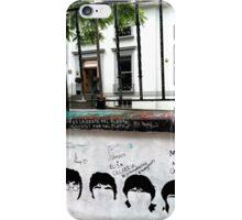 Fab Four Graffiti at Abbey Road Studios iPhone Case/Skin