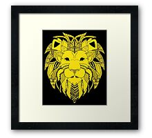 King of the tribe. Framed Print