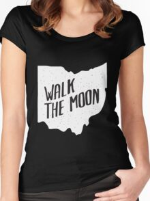 WALK THE MOON  Women's Fitted Scoop T-Shirt