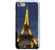 Eiffel Tower by Night iPhone Case/Skin