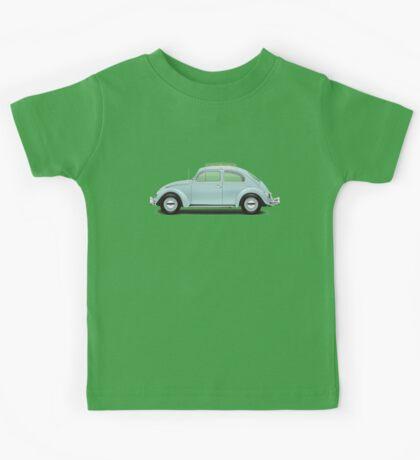 1962 Volkswagen Beetle Sedan - Pacific Blue Kids Tee