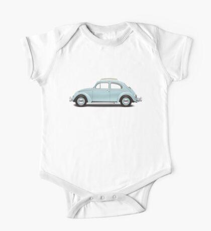 1962 Volkswagen Beetle Sedan - Pacific Blue One Piece - Short Sleeve