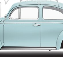 1962 Volkswagen Beetle Sedan - Pacific Blue Sticker