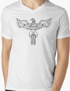 Coota - Art Eagle Mens V-Neck T-Shirt