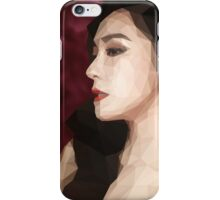 Low Poly Art - Tiffany iPhone Case/Skin