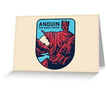 Lord of the Rings Anduin Greeting Card