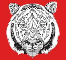 Coota-Art Tiger One Piece - Short Sleeve