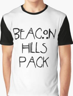 Beacon Hills Pack Graphic T-Shirt