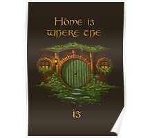 Lord of the Rings Shire Poster