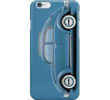 1961 Volkswagen Beetle Sedan - Dove Blue iPhone Case/Skin