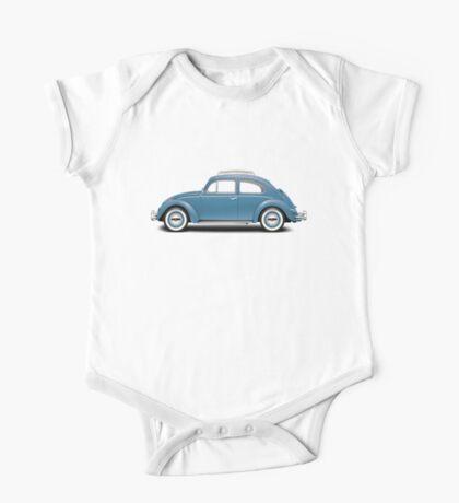 1961 Volkswagen Beetle Sedan - Dove Blue One Piece - Short Sleeve