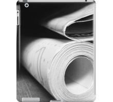 Blue Prints iPad Case/Skin