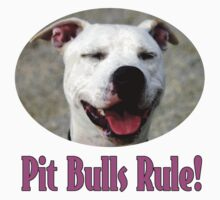 Pit Bulls Rule! One Piece - Long Sleeve