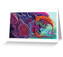 csgo hyper beast Greeting Card