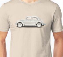 1961 Volkswagen Beetle Sedan - Pearl White Unisex T-Shirt
