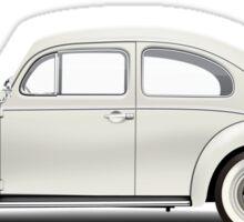 1961 Volkswagen Beetle Sedan - Pearl White Sticker