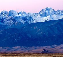 Sangre de Christo and The Great Sand Dunes National Park by Nicholas Blackwell