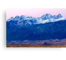 Sangre de Christo and The Great Sand Dunes National Park Canvas Print