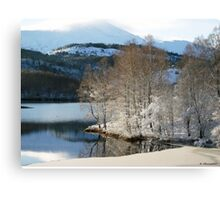Icy Reflection Canvas Print