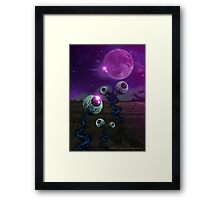 Pineal Fields: Farming the Third Eye Framed Print