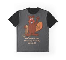Beaver Wood Graphic T-Shirt