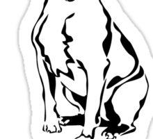 Love Me, Love My Pit Bull Sticker