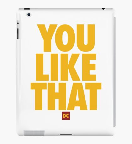 Redskins You Like That Cousins DC Football by AiReal Apparel iPad Case/Skin