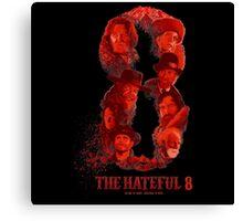 the hateful 8 logo Canvas Print