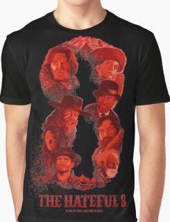 the hateful 8 logo Graphic T-Shirt