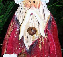 Sad Santa Sticker