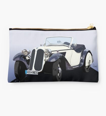Vintage Car Studio Pouch