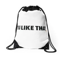 Redskins You Like That Cousins DC Football by AiReal Apparel Drawstring Bag