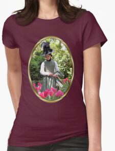 A Colonial Lady in Her Garden T-Shirt