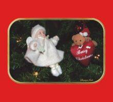 Beary Christmas ~ Tree Decorations Baby Tee