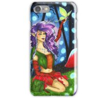 In the Woods - Copic Marker Illustration iPhone Case/Skin