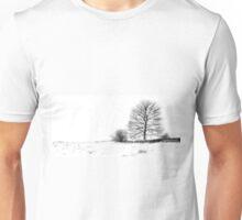 Winters Grip At Bradgate Park Unisex T-Shirt