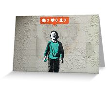banksy-07 Greeting Card