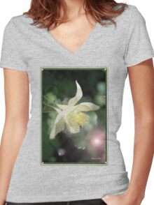 Magical Columbine ~ Must Be Fairies Women's Fitted V-Neck T-Shirt