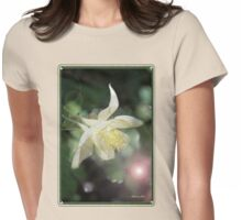 Magical Columbine ~ Must Be Fairies Womens Fitted T-Shirt