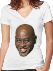 Ainsley Harriott Women's Fitted V-Neck T-Shirt