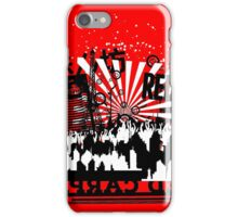 Urban color Red iPhone Case/Skin