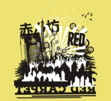 Urban color Red Kids Tee