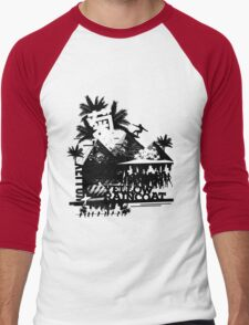 Urban color Yellow Men's Baseball ¾ T-Shirt
