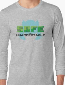 SAFE is unacceptable (Project Diva) Long Sleeve T-Shirt