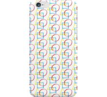 Yellow Triangle Red Circle Blue Square iPhone Case/Skin