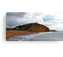 East Cliff - West Bay - Broadchurch Canvas Print