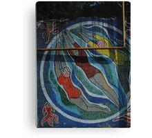 Laguna bathers Canvas Print